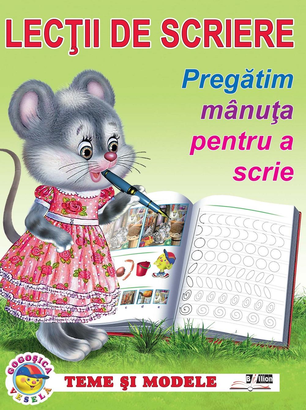 """LECTII DE SCRIERE. PREGATIM MANUTA PENTRU A SCRIE. """"Biblion"""""""