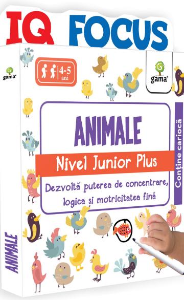 IQ Focus. Animale – nivel Junior Plus. Gama