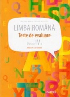 Limba romana. cl.4. Teste de evaluare. Cartier